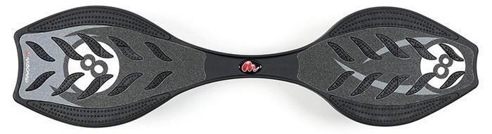 Maxboard 8 ist schwarz mit einer acht auf einer runden weissen Fläche