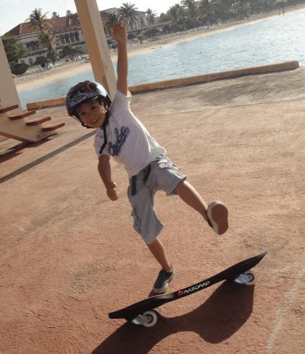 Maxboard für Kinder in Cuba