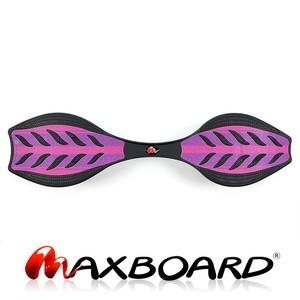 Maxboard double purple für Mädchen und Damen und Kinder in pink-rosa gestreift