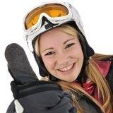 Snowboardfahrerin